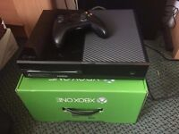 Xbox One 500GB Black with Controller 3.5mm + Charging dock