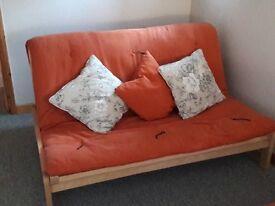 Pair of Futon sofa beds