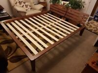King size bed with comortable mattress