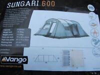 Vango Sungari 600 6 person tent