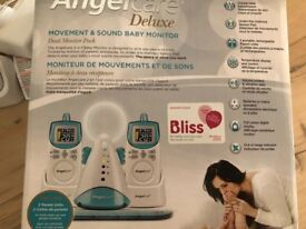 Angelcare movement and sound baby monitor and sensor pad