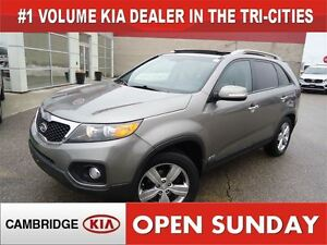 2012 Kia Sorento EX Luxury V6  / NAV / LEATHER / ROOF