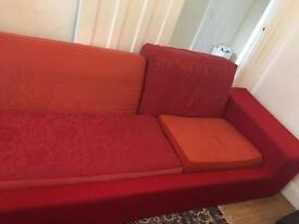 Five seater red soda