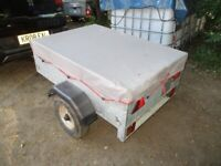 CADDY 430 (250KG) DROPTAIL GOODS TRAILER WITH COVER.......