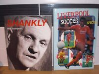 TWO LIVERPOOL FC RELATED BOOKS - SHANKLY & LIVERPOOL SOCCER SPECIAL 1987-1988