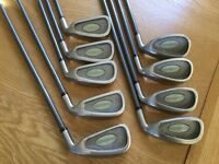 Md tour oversize irons graphite shafts 3 to sw full set