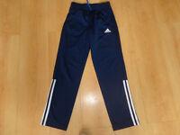 Boys Original Adidas Tracksuit bottoms 9-10 years