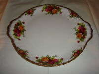 Royal Albert. Old Country Roses Cake / Sandwich Plate