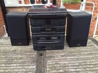 JVC Complete Stereo. Cassette, CD, LPs and Radio. CA-ME38