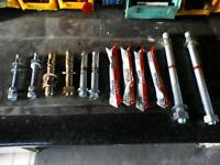 Hilti bolts and glue for sale