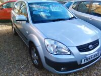 2005 kio rio 1.5 diesel only 85.000 miles 2 owners from new 5 door full service history full MOT