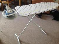 Iron & ironing board