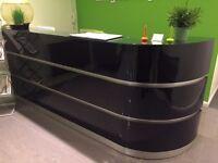 Large Bespoke Office Reception Desk