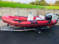 Zodiac Pro Rib Boat