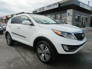 2014 KIA Sportage EX (AWD, Leather - Pano Sunroof)