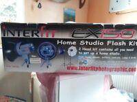Interfit EX150 Speed light / Home studio kit