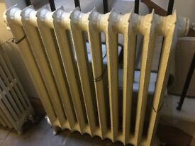 Cast Iron Vintage Radiator.