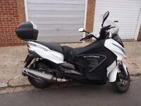 Kawasaki J300 ABS White 12 Months MOT + loads of extras