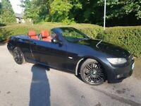 2009 59'REG,BMW 330D COVERTIBLE M SPORT HIGHLINE AUTOMATIC, iDrive LOGIC 7,FSH