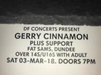 Gerry Cinnamon Tickets Dundee
