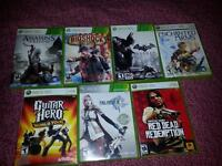 for sale, Xbox 360 great condition games bundle all for 50 dolla