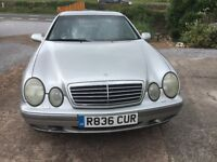 CLK 320 FSH LOW MILES EXCEPTIONAL CONDITION THROUGHOUT FOR YEAR