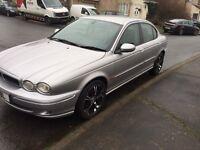 2002(52) Jaguar X Type 2100l Sport, Silver, Petrol, Black leather, ex con, good tyres, lovely car!
