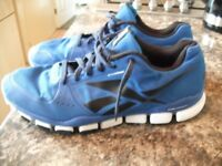 Reebok 3D fuse frame dual compound running trainers size 11