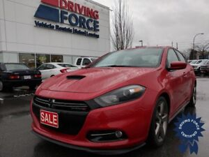 2016 Dodge Dart GT Sedan, Leather Seats w/Accent Stitching