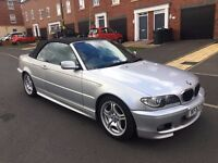2003 BMW 318 M SPORT CONVERTIBLE FACELIFT MSPORT MANUAL CABRIOLET HPI CLEAR 318CI 320CI 330 320D M3