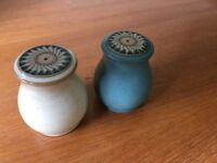 Denby Luxor Tableware – Salt & Pepper Pots