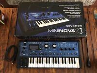 Novation Mininova Synthesizer - Excellent Condition