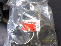 HILTI MP-MS 117J SPRINKLER PIPE RINGS / CLAMPS 114-119mm x 20 JOB LOT