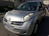2005 NISSAN MICRA S 1.2 / 72000 MILES ONLY / LONG MOT / LOW INSURANCE / SPARES REPAIRS £695