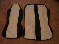 van seat covers with head rests brand new unused driver and double passanger