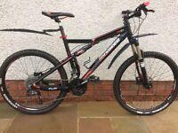 Rockrider 9.1 mountain bike, large frame