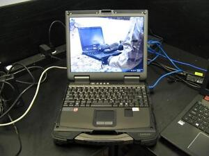 GeTac B300X *Intel* Rugged Laptop Panasonic Toughbook Police