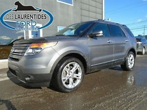 2014 Ford Explorer Limited AWD Cuir/Toit/GPS
