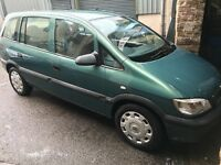 Vauxhall zafira club 1.8 petrol (automatic) 03-plate! 7 seater mpv! Mot june! 120,000 miles!