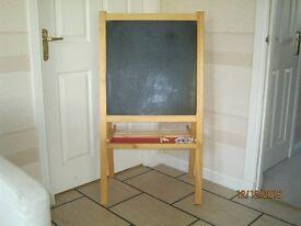 Chalkboard & Whiteboard - kiddies two sided toy