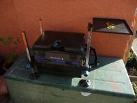 AVANTI ACTION THREE DRAW SEAT BOX TACKLE BOX