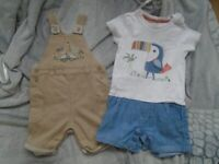 2 x baby boys outfits 12-18 months. one from GEORGE