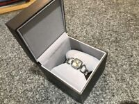 Boxed Used Genuine Gucci Ladies Watch with Diamonds & Receipt Womens RRP £490