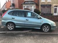 Nissan ALMERA 1.8 FSH WITH 14 STAMPS IN THE BOOK