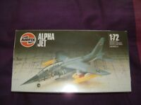 Airfix Alpha Jet Kit 1:72 scale still in sealed box, stored in the cupboard for years