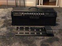 Line 6 Spider IV HD 150W Modeling Amp Head + Line 6 FBV Shortboard Mk II Foot Controller