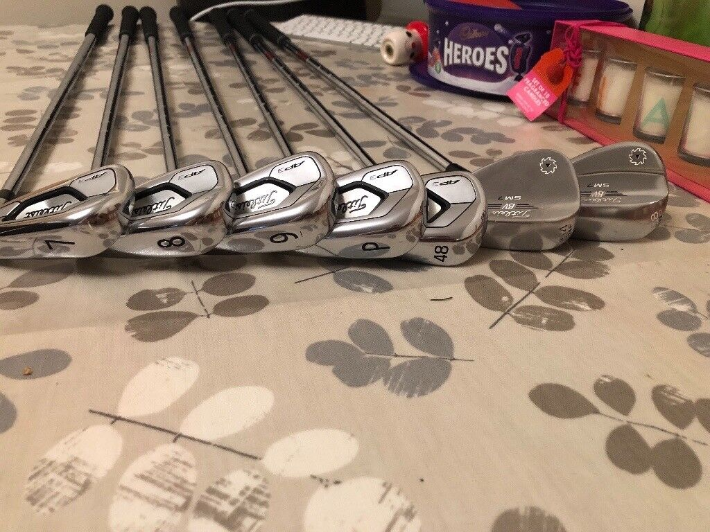 Titleist AP3 irons and vokey wedges with KBS shafts | in Cwmbran, Torfaen |  Gumtree
