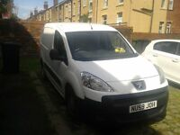 Excellent condition Peugeot van for sale.