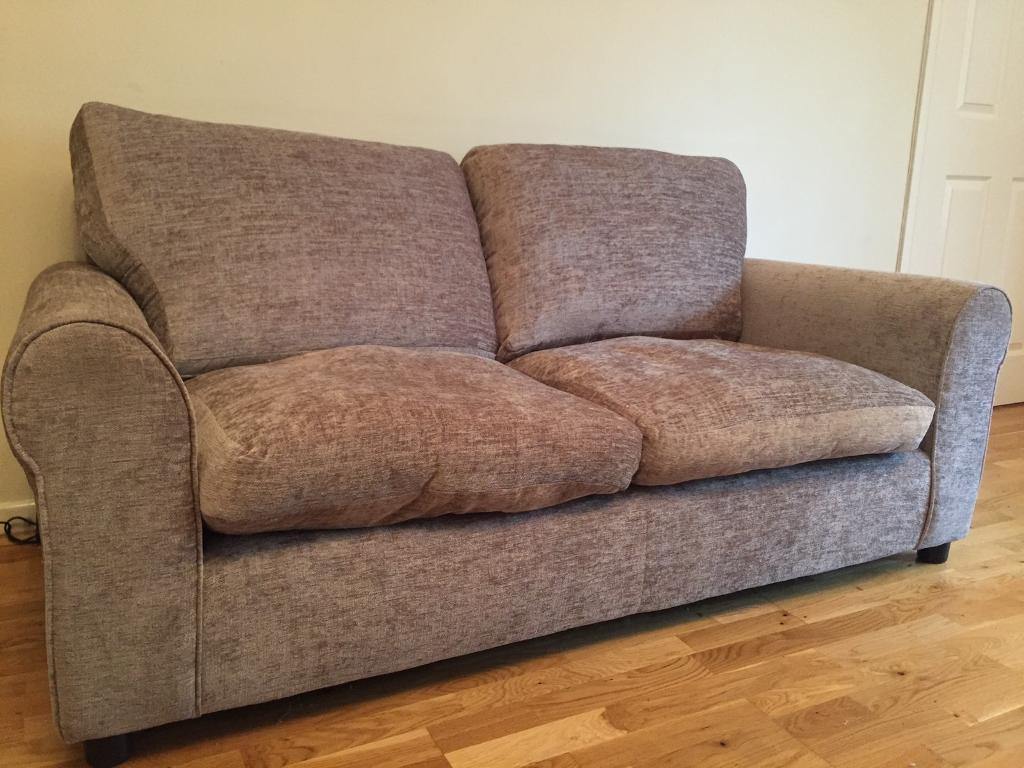 Sofa 2 3 personin Tiverton, DevonGumtree - Less than a year old we have a 2 3 person sofa in soft fabric and still in immaculate condition