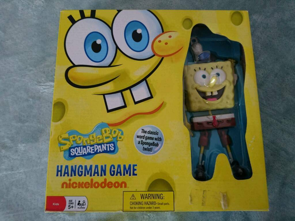 Spongebob, hangman game